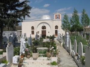 Άγιος Σπυρίδωνας κοιμητήριο